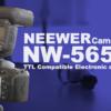 TTL対応スチル撮影用フラッシュ入門!Neewer NW565EX for Nikon