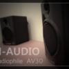M-AUDIO AV30スピーカーの中古を購入した