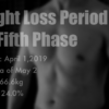 第5回減量期ダイエット1ヶ月経過【2019】