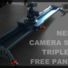 コスパ最強!?動画表現の幅を広げるアジャストロッド付きカメラスライダー Neewer CAMERA SLIDER