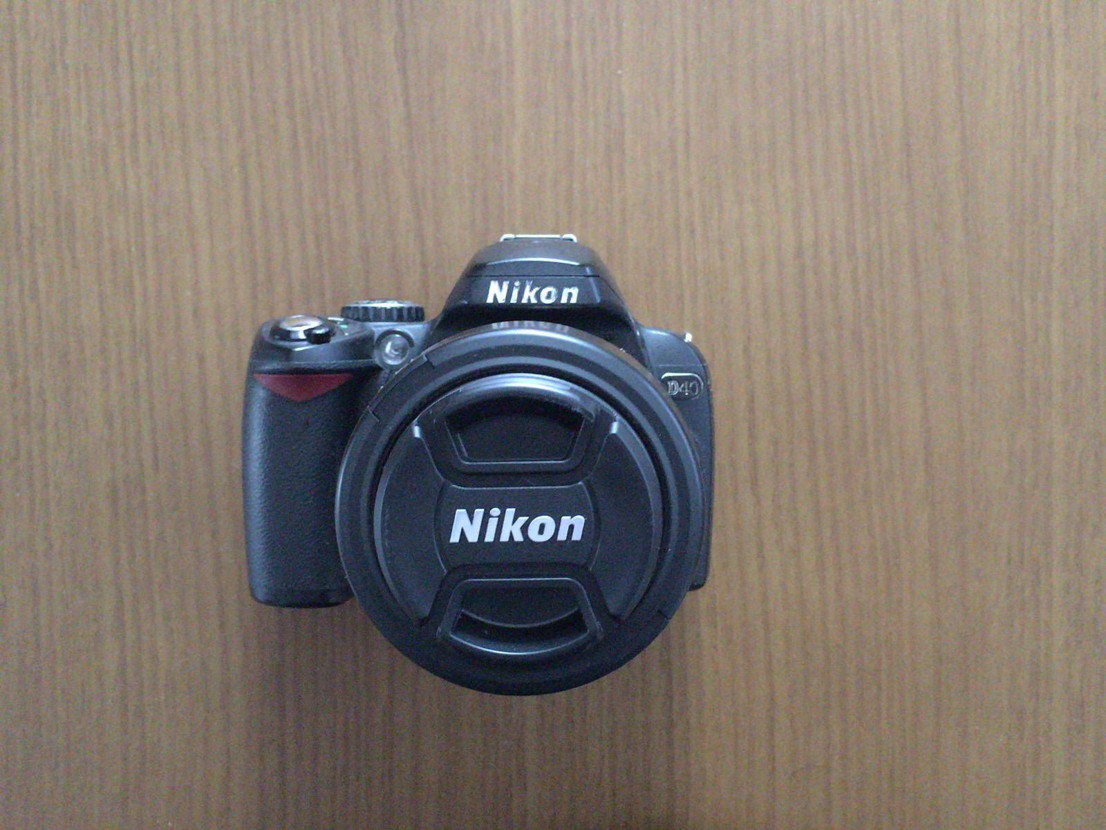 Nikon_D40正面