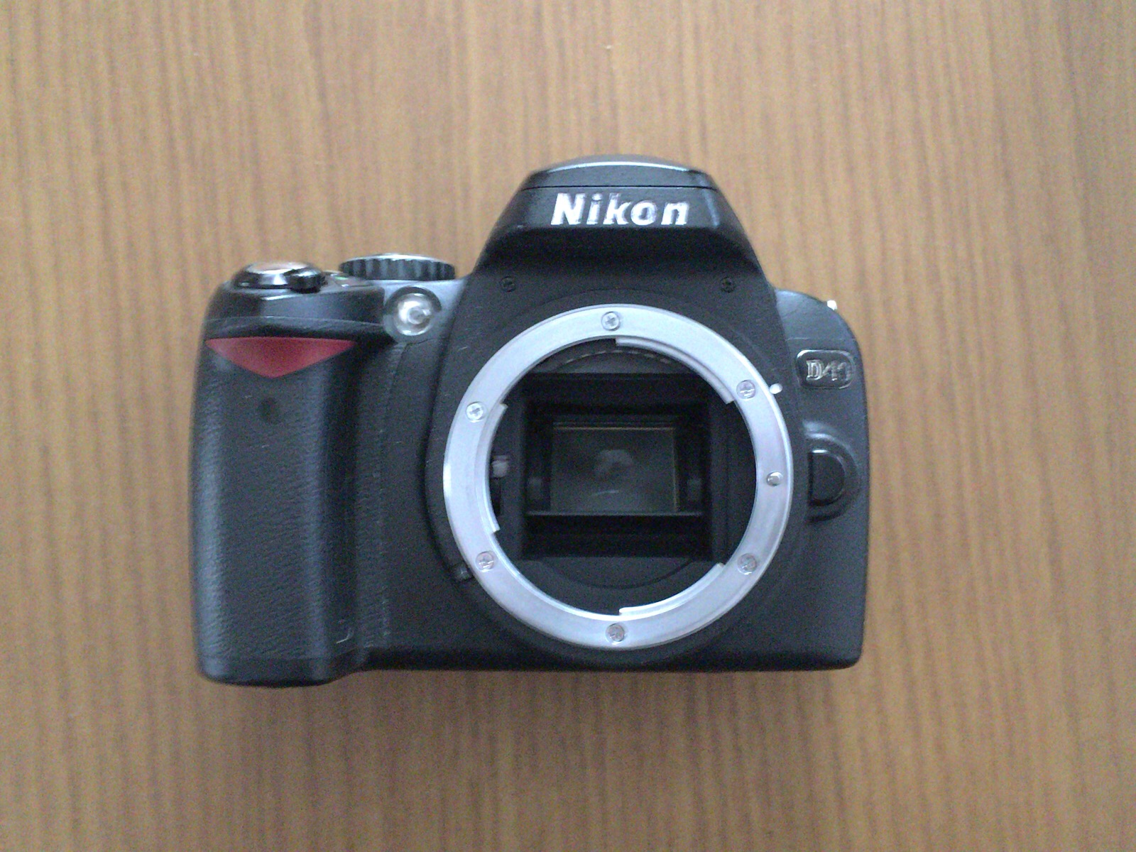 Nikon_D40Fマウント&センサー