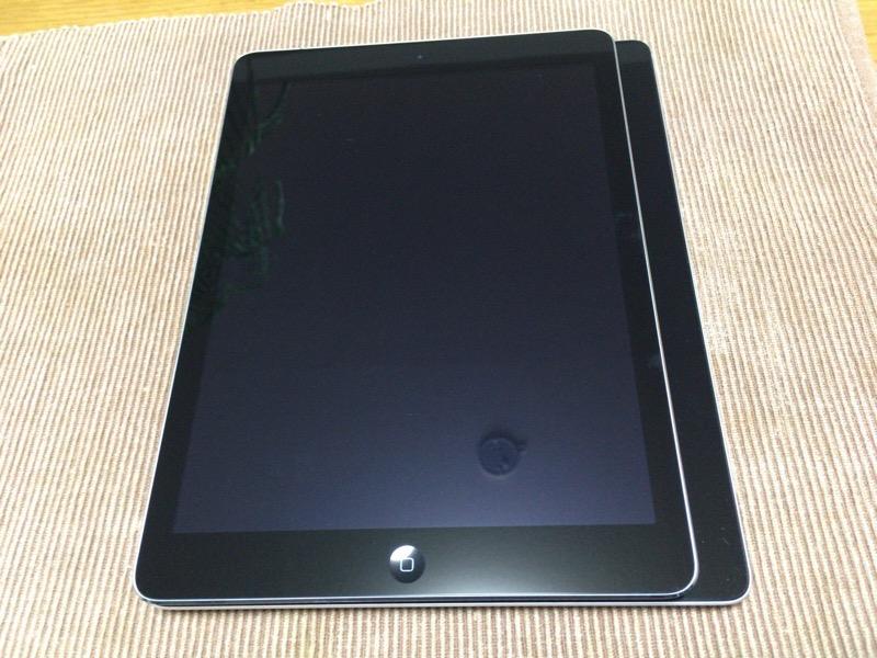 iPadAir大きさ比較