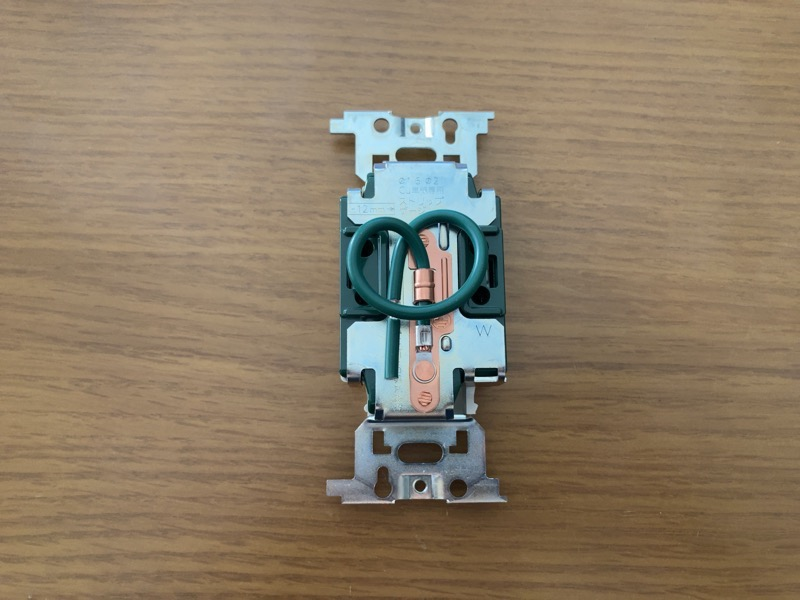 Panasonic WN1318K裏