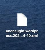 DeMomentSomTres Export出力ファイル