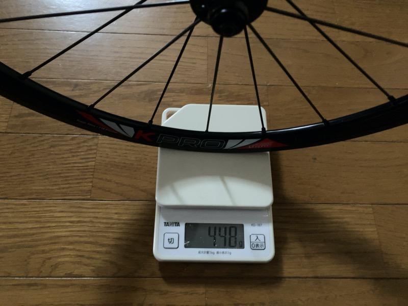 LitePro Kpro Wheel重量