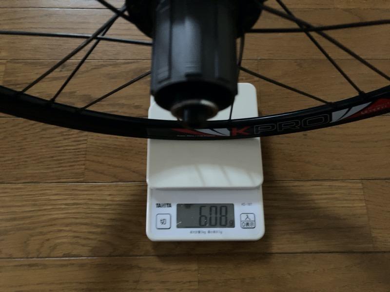 LitePro Kpro RearWheel重量