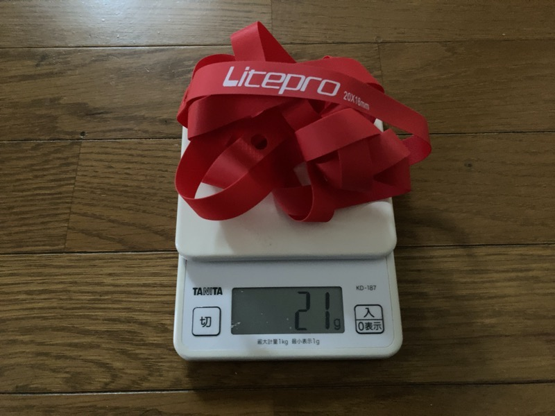 LitePro Kpro Wheelリムテープ