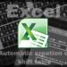 【Excel2010】最小限の入力で自動作成するシフト表 第6回 シフトPart1 通常週【関数】