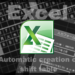 【Excel2010】最小限の入力で自動作成するシフト表 第4回 曜日Part1 平常日【関数】